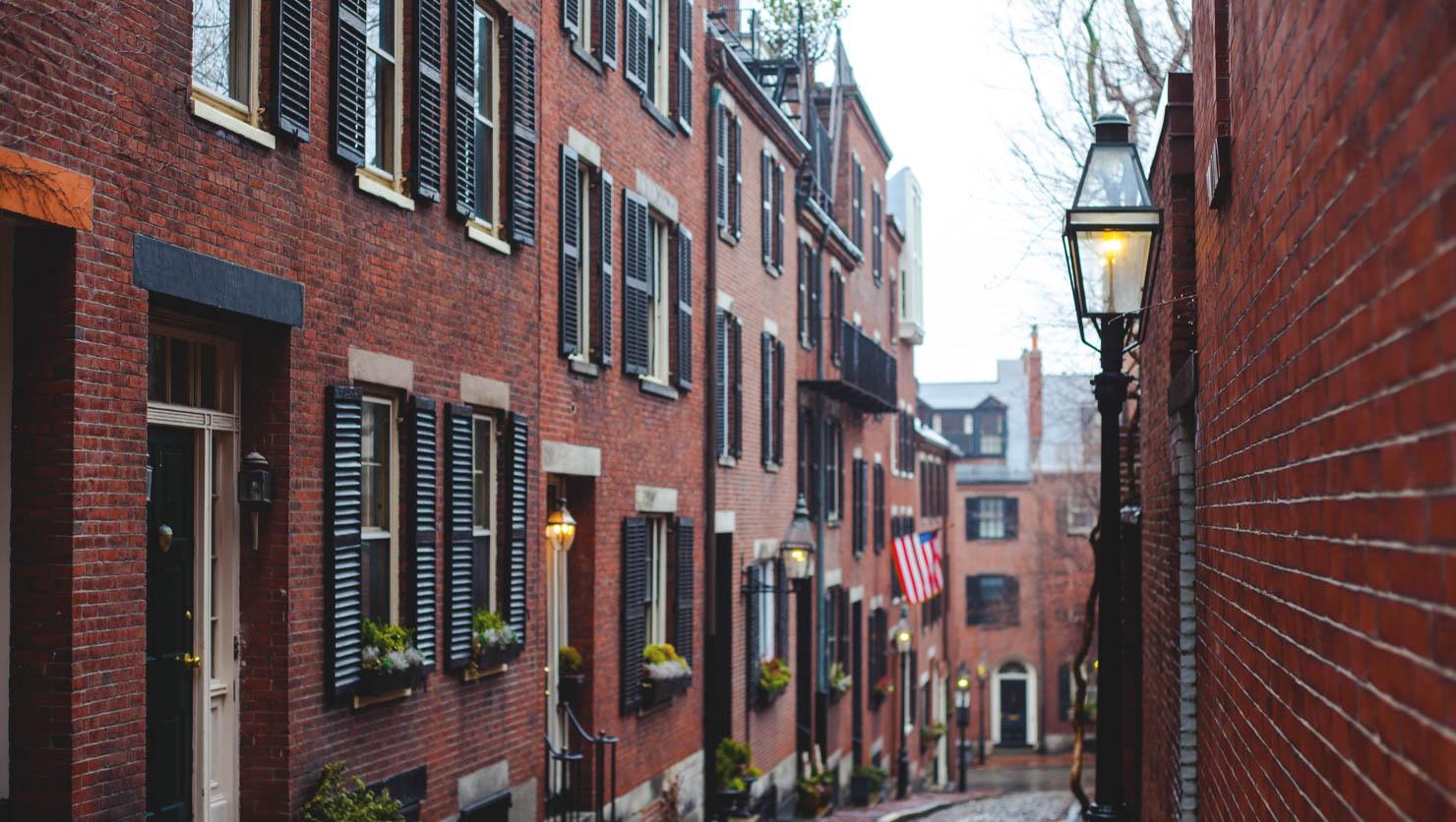 Boston Beacon Hill neighborhood