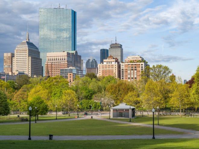 Boston commons image